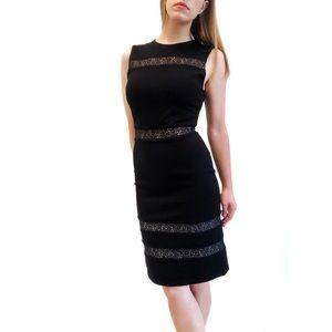 Alice + Olivia Kerrie Lace Sleeveless Sheath Dress